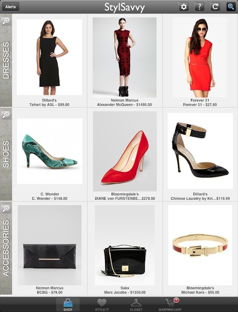 StylSavvy: The Ultimate Fashion shopping iPad app