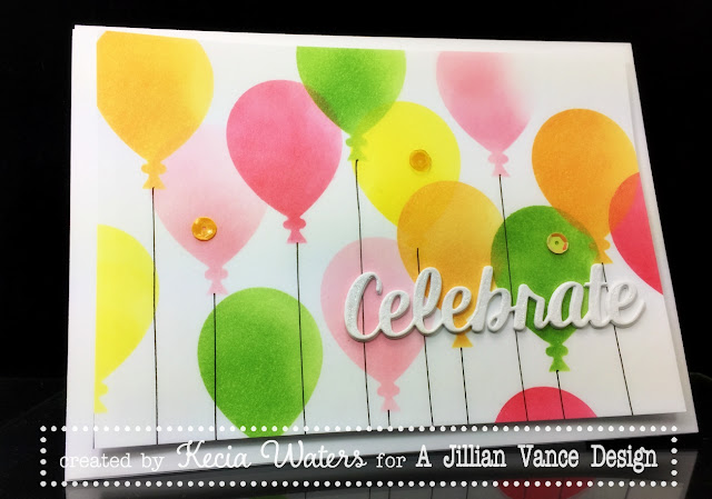AJVD, Kecia Waters, balloons, celebrate