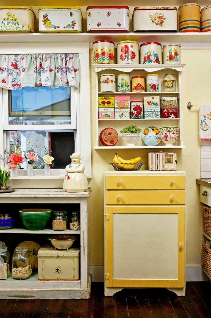 moois en liefs Kleurige keukens