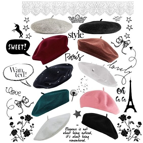 Beret Fashion Trend