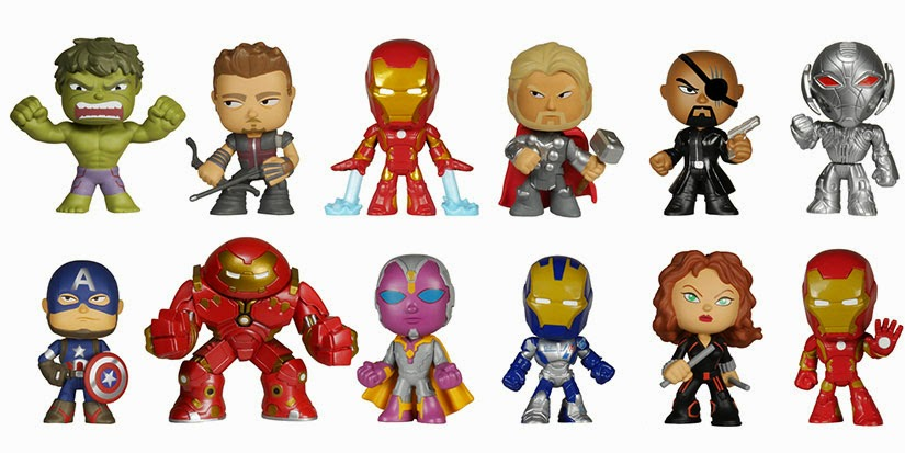 Marvel's The Avengers Age of Ultron Mystery Minis Blind Box Mini Figure Series by Funko