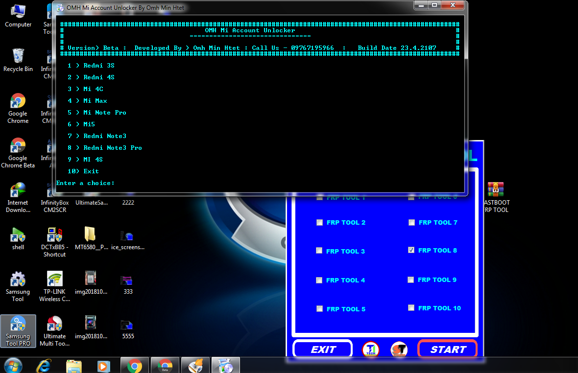 Need Firmware File: FASTBOOT & ADB FRP TOOL THE AMAZING TOOLS