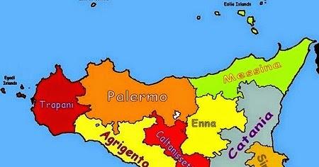 Cartina Della Sicilia Turistica.La Sicilia Riassunto Scuolissima Com
