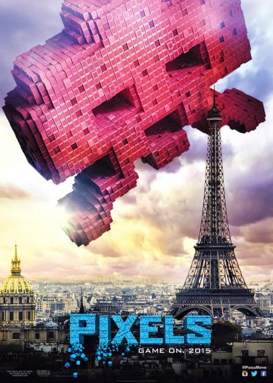 Punch Drunk Critics: Retro Video Game Posters for 'Pixels