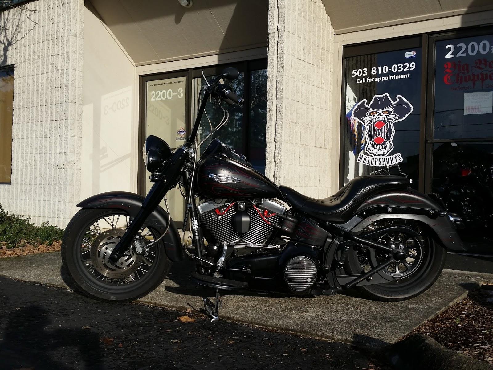 Omg Motorsports 2013 Harley Flstfb Fat Boy Lo Quot Blacked