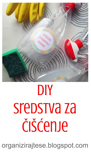 DIY sredstva za čišćenje