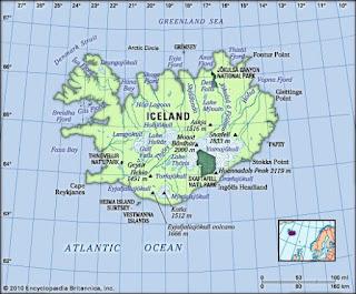 Geografi Islandia