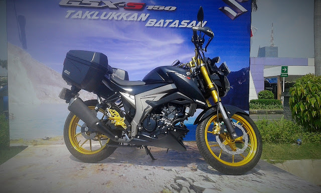 modifikasi suzuki gsx 150