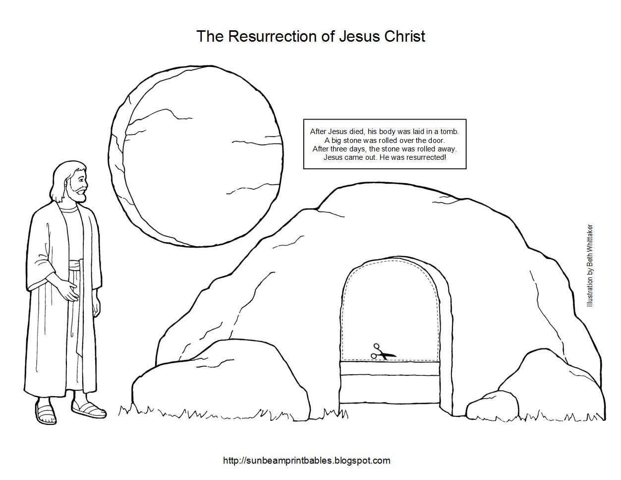 resurrection coloring pages printable easter egg resurrection
