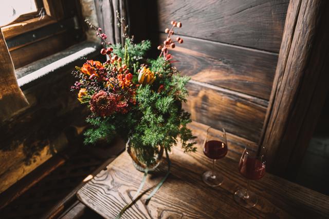 editorial la novia del palomar - ramo de novia flores el invernadero oviedo