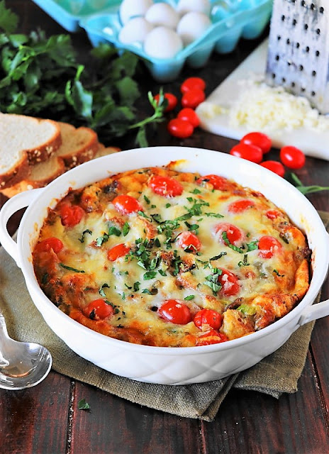 Recipes to Make with Sausage - Breakfast Bread Pudding Image
