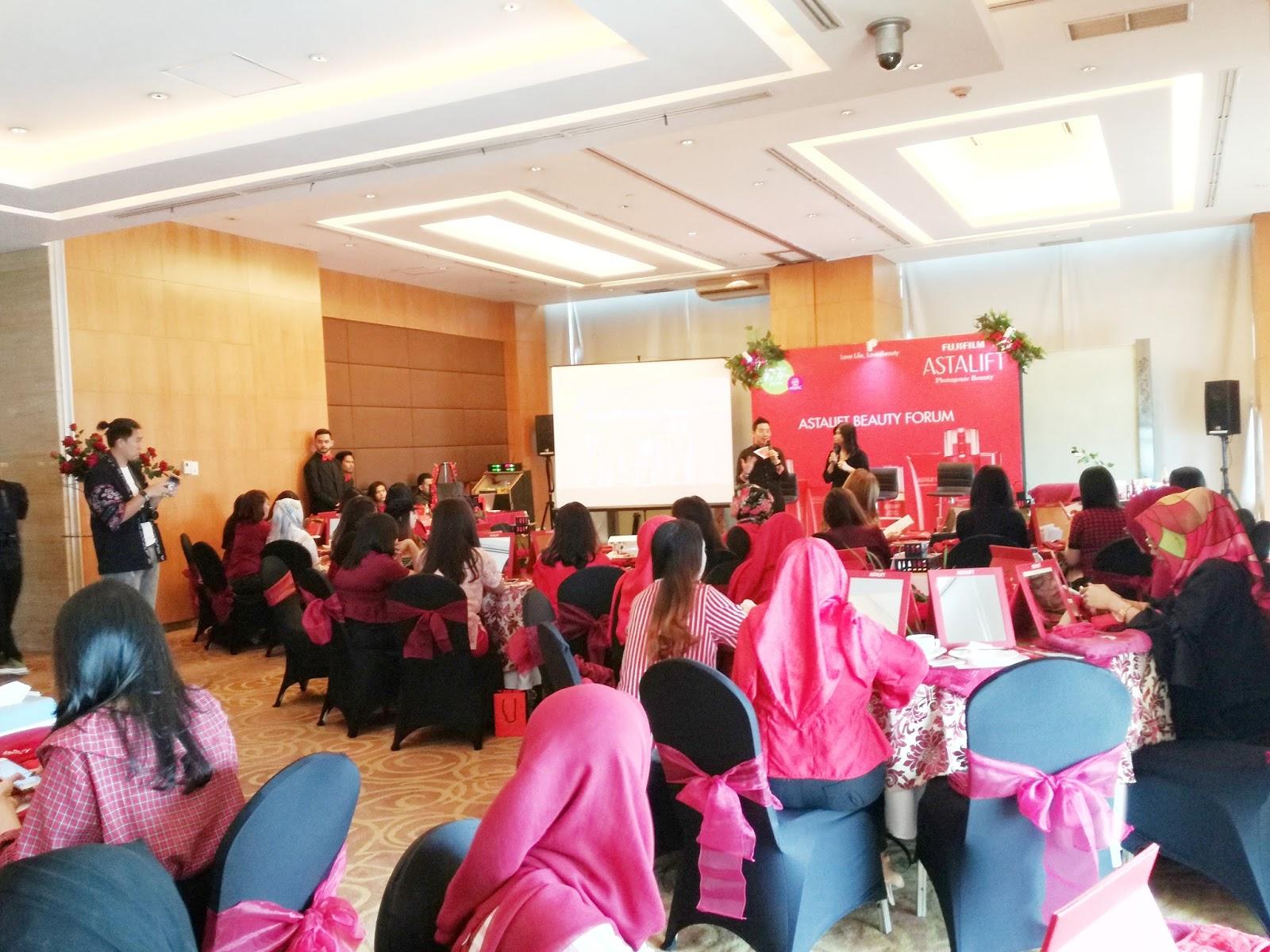 Event] Fujifilm Astalift Photogenic Beauty Forum in Medan