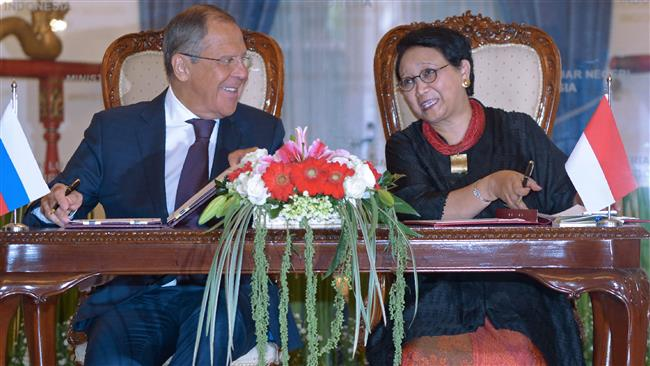Russia, Indonesia vow to fight Daesh ideology