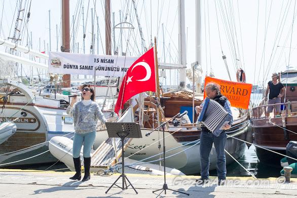 15 Nisan Dünya Sanat Günü etkinlikleri, Bodrum