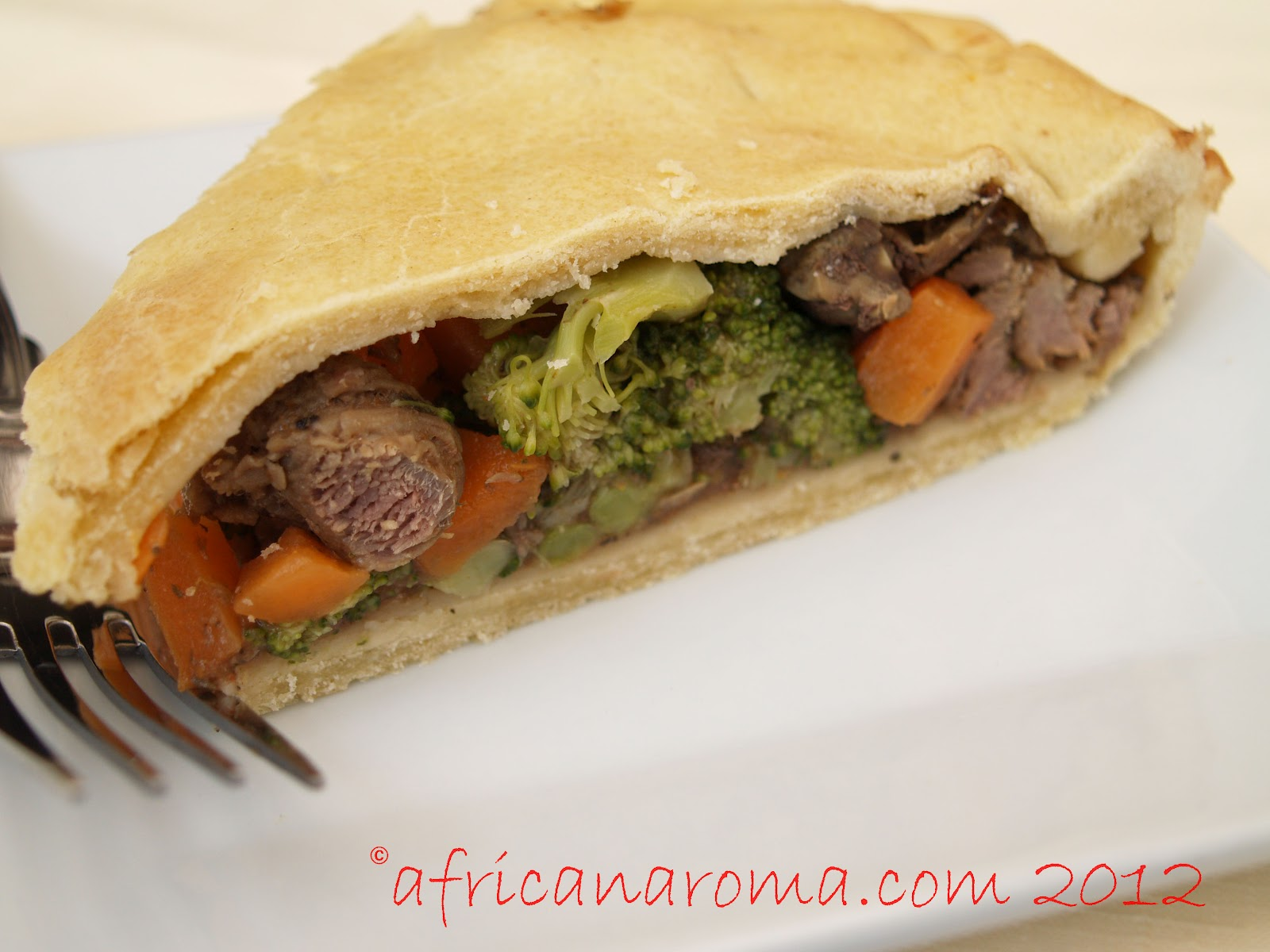 African Aroma: Steak and Kidney Pie