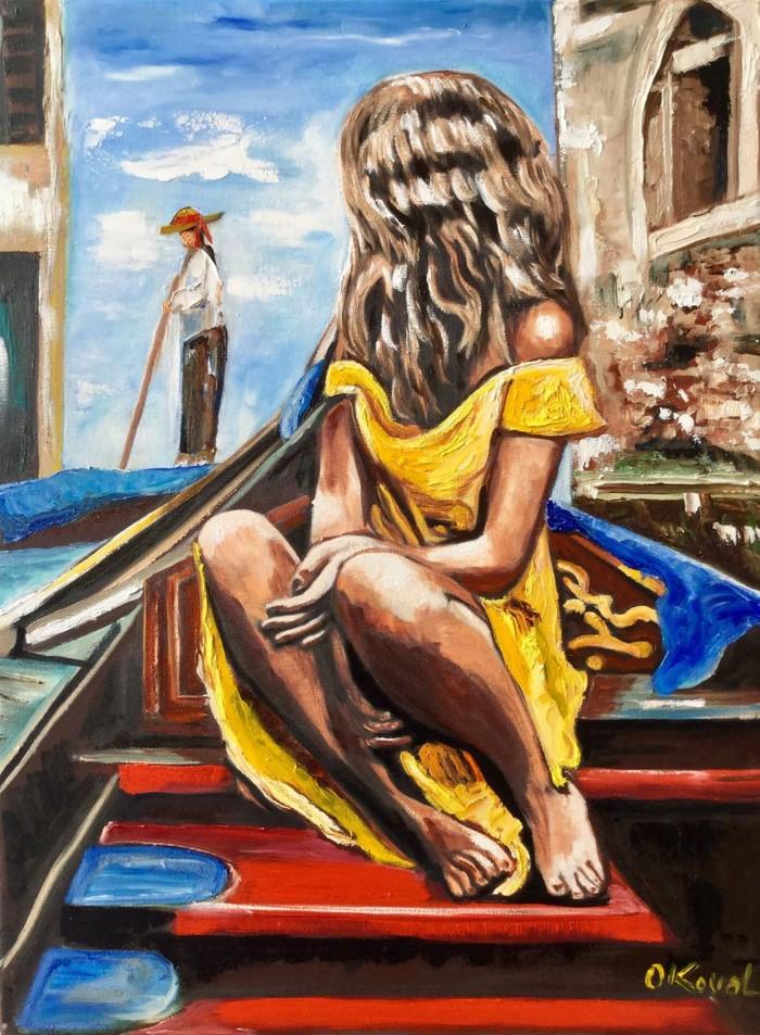Украинский художник. Olga Koval