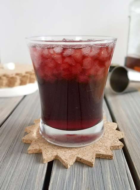 This cocktail is low in sugar and only uses bourbon and tart cherry juice. No added sugar! Perfect for those who don't like overly sweet drinks or are on a low-carb diet. Or anyone who appreciates the health benefits of tart cherries!