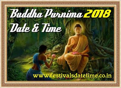 2018 Buddha Purnima Festival Date & Time in India - बुद्ध पूर्णिमा 2018 तिथि और समय - বুদ্ধ পূর্ণিমা 2018 তারিখ এবং সময়