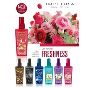KOSMETIK ONLINE SHOP - Parfum IMPLORA Body Mist Cologne Original 100ml