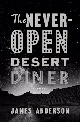 The Never-Open Dessert Diner, Book Review, InToriLex, James Anderson