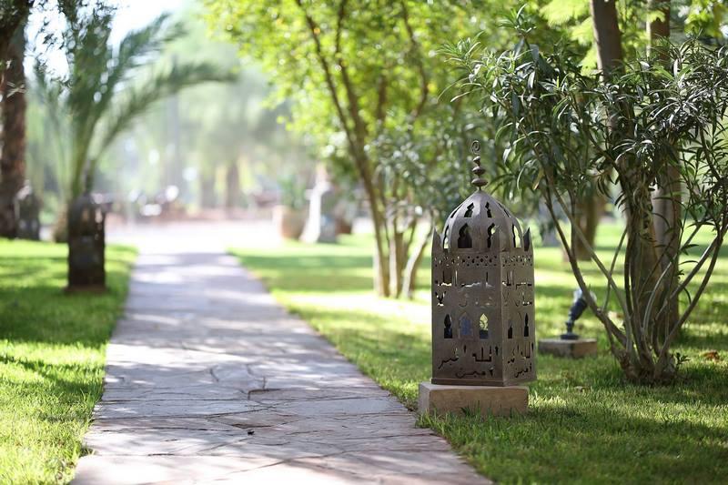 Im genes inspiradoras de patios y jardines en marrakech for Jardin islamico