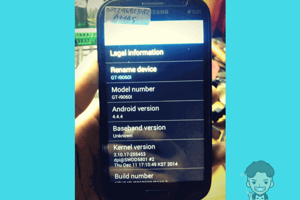 Mengatasi Imei Baseband Null Samsung Grand Neo+ Plus (I9060i)