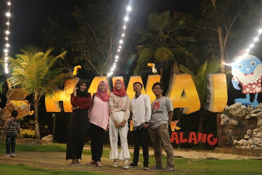 rainhanifa: Warna Warni Liburan di Hawai Waterpark dan Malang Night Paradise