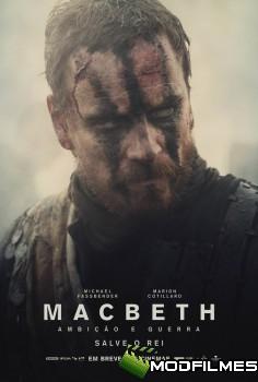 Capa do Filme Macbeth: Ambição e Guerra