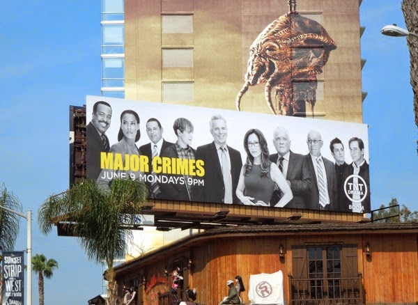 Major Crimes season 3 billboard