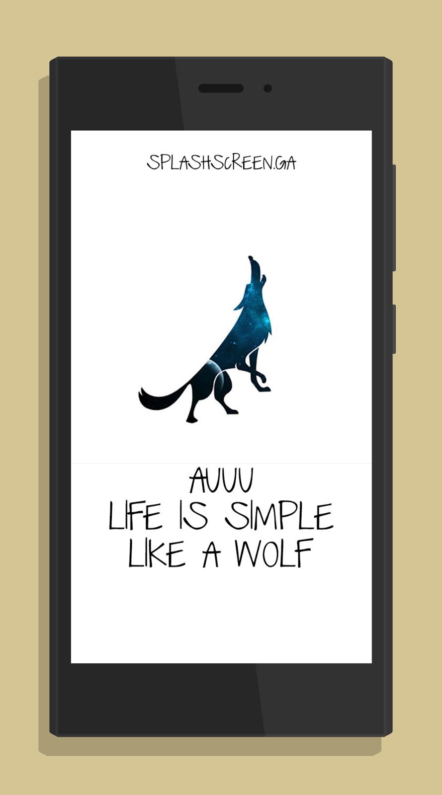 Splashscreen Wolf Xiaomi Redmi 2