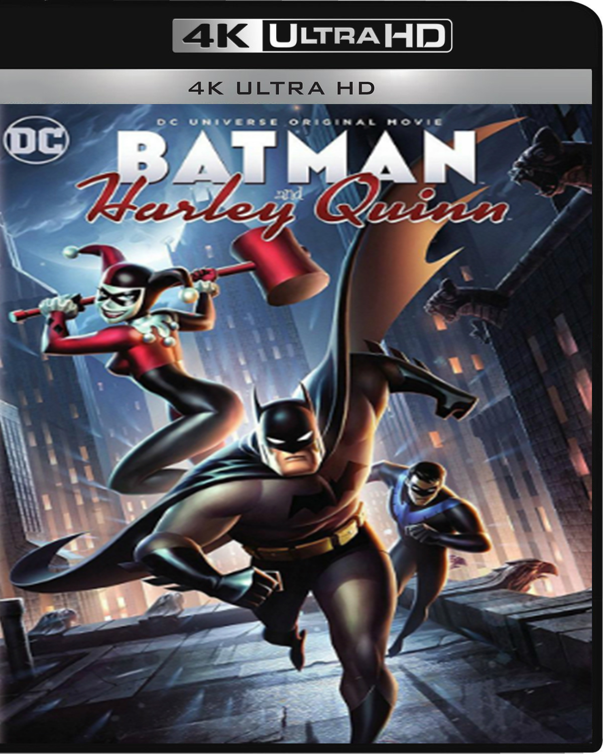 Batman and Harley Quinn [2017] [UHD] [2160p] [Latino – Castellano]