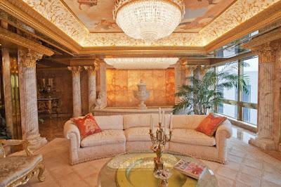 บ้านอพาร์ทเมนท์ของ โดนัล ทรัมป์ และภรรยา
