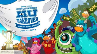 "Disney*Pixar's ""Monsters University"" comes to Disney's Club Penguin"