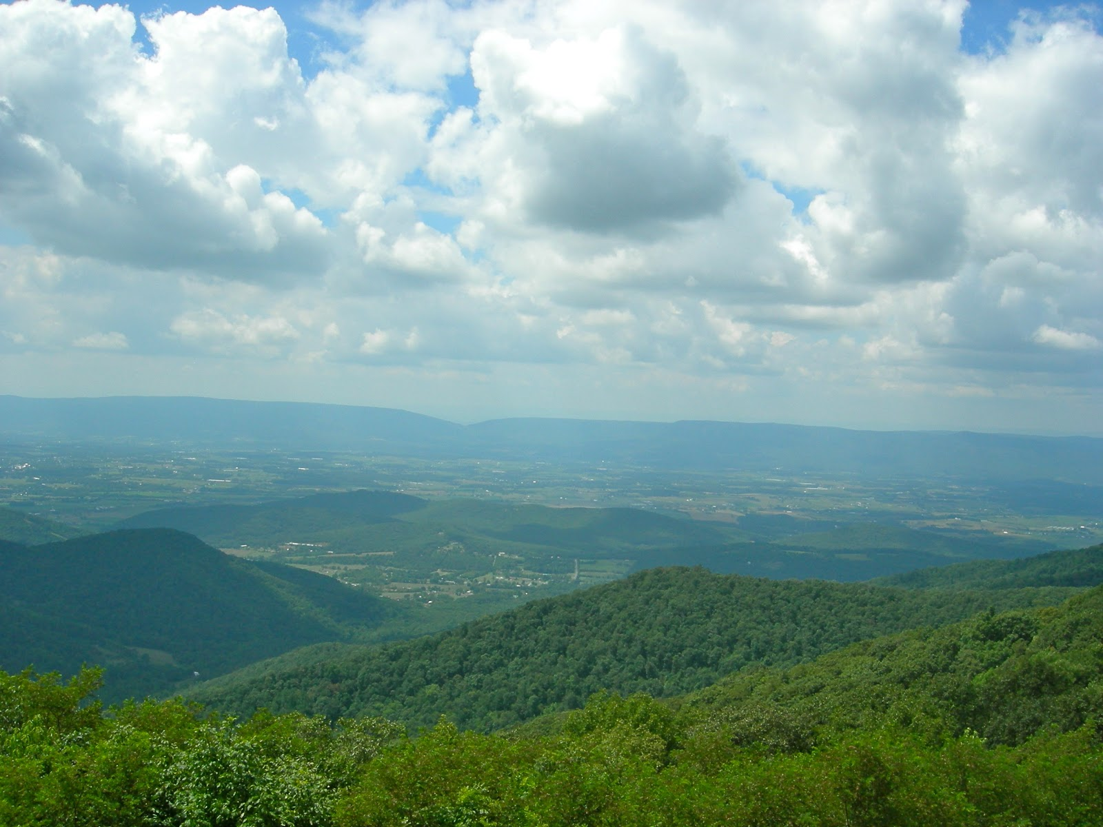 One of the Many Views from Skyline Drive