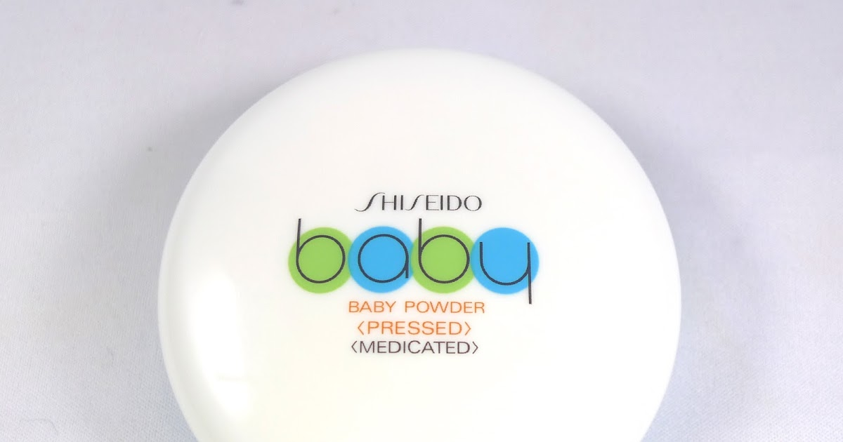 Review Shiseido Medicated Baby Powder Pressed The