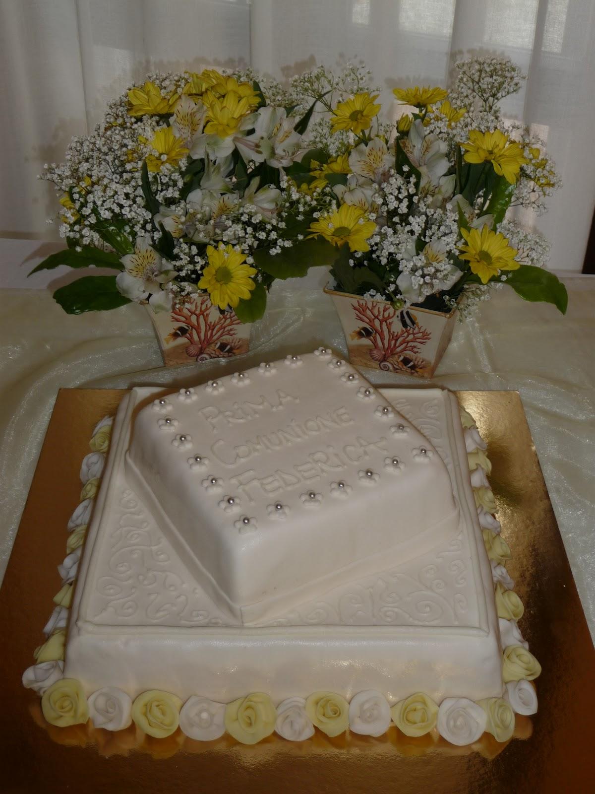 Le torte di ross maggio 2012 for Decorazione torte prima comunione