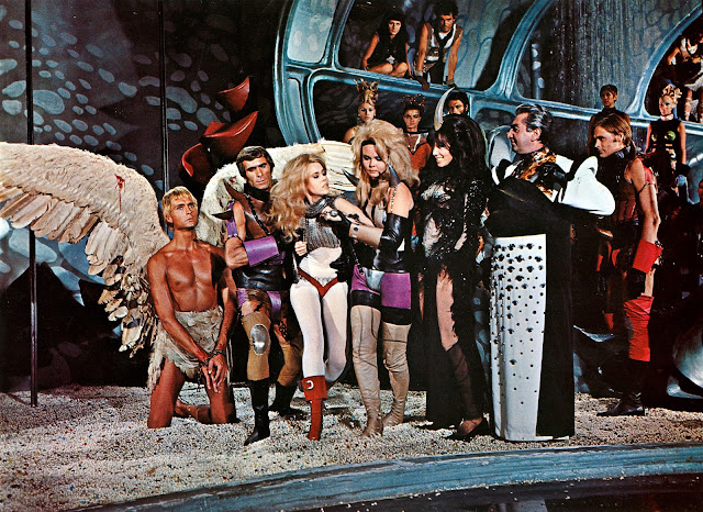 Barbarella 1968 cast