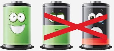 Cara merawat baterai hp agar awet