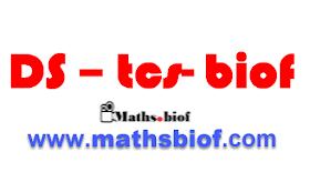 Devoir B surveillé 2 semestre 2 TCSF maths