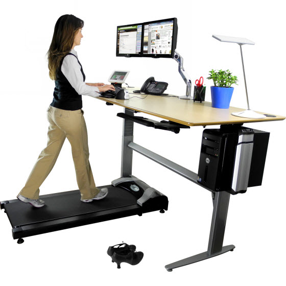 transition to standing desk