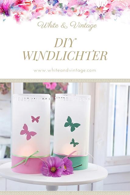 DIY Windlichter basteln
