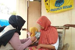 PB PMII Salurkan Bantuan Korban Gempa Di Lombok Utara