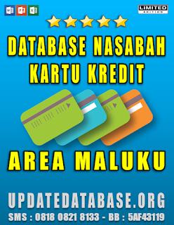 Jual Database Nasabah Kartu Kredit Maluku