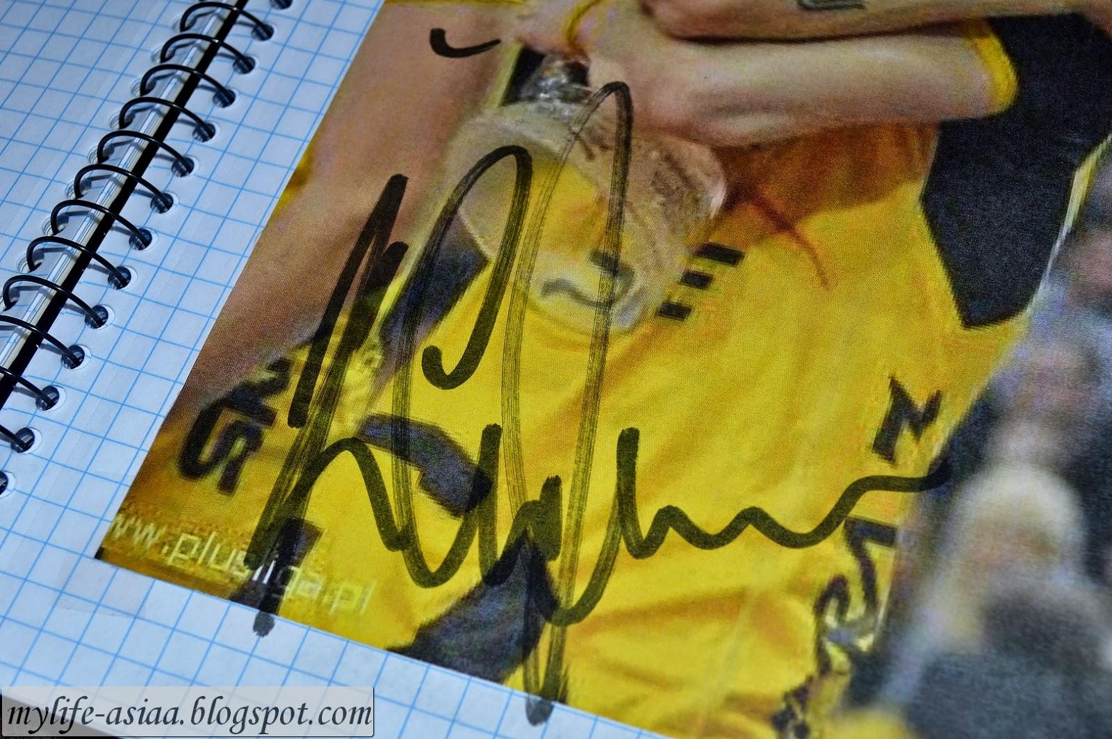 Cupko autograf