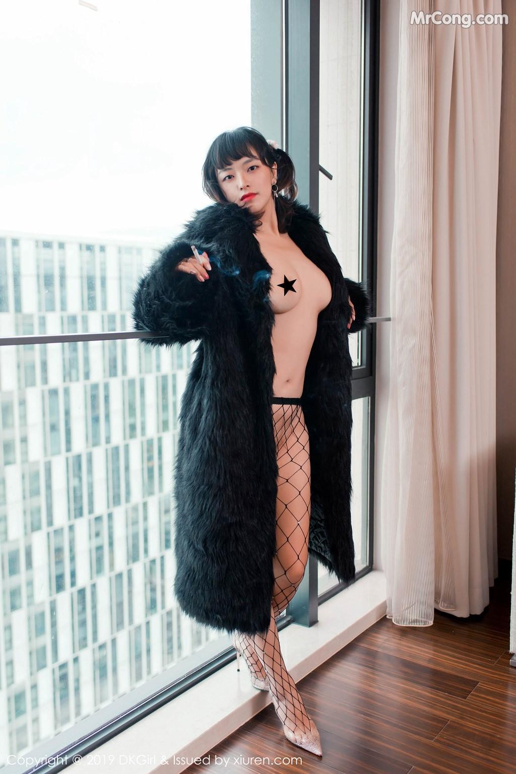 Image DKGirl-Vol.118-Zhang-Hua-Hua-MrCong.com-008 in post DKGirl Vol.118: Zhang Hua Hua (张花花) (51 ảnh)