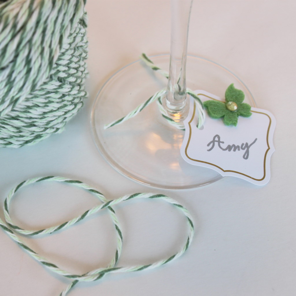 DIY Elegant Party Wine Charms - Oh My Creative