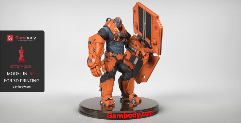Paragon Steel 3D print model