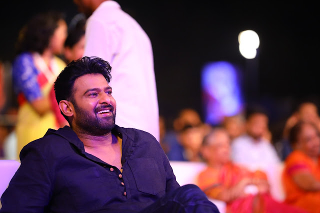 Prabhas at Baahubali 2 Pre Release Event