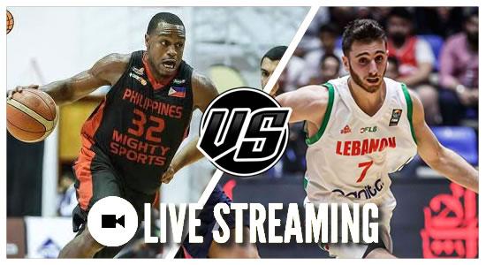 Live Streaming List: Philippines Mighty Sports vs Al Riyadi Lebanon 2019 Dubai Basketball Tournament