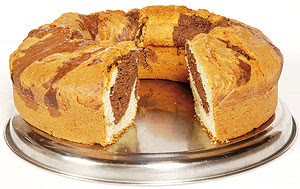 Receta Torta Marmolada Light